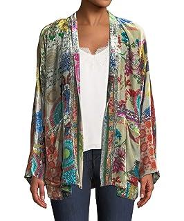 cc3d832a5 Johnny Was Vivian Velvet Kimono - C44218 at Amazon Women's Clothing ...