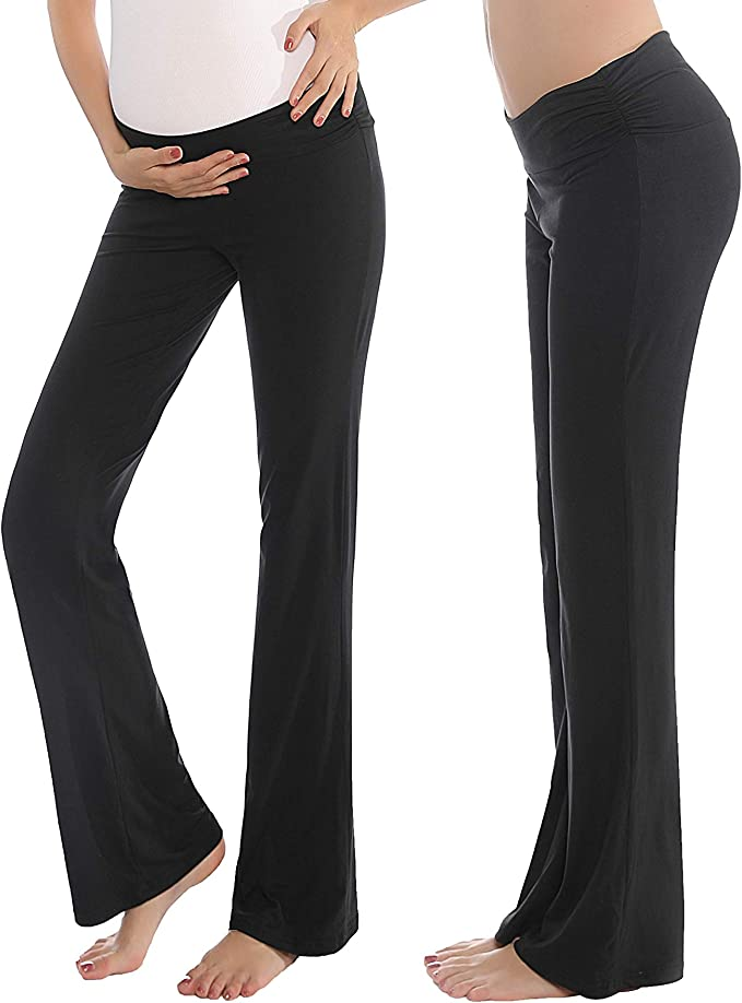 Maternity Pants For Women Comfortable Soft Below Bump Pajama Pregnant Lounge Pj Shops Clothing Shoes Jewelry