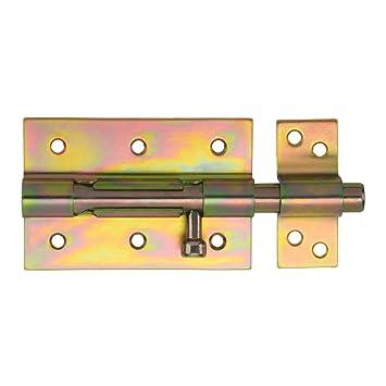 2 x SO-TOOLS/® Gartentorverriegelung 147 mm Schubriegel T/ürschieber Torschieber