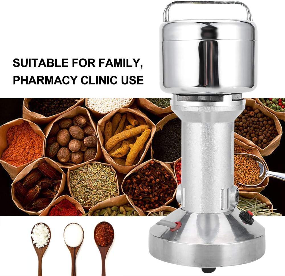 Prise UE Machine /électrique de poudre de broyeur de 100g machine /électrique de poudre de broyeur de nourriture pour le caf/é de poivre de grain d/épice dherbe de m/édecine