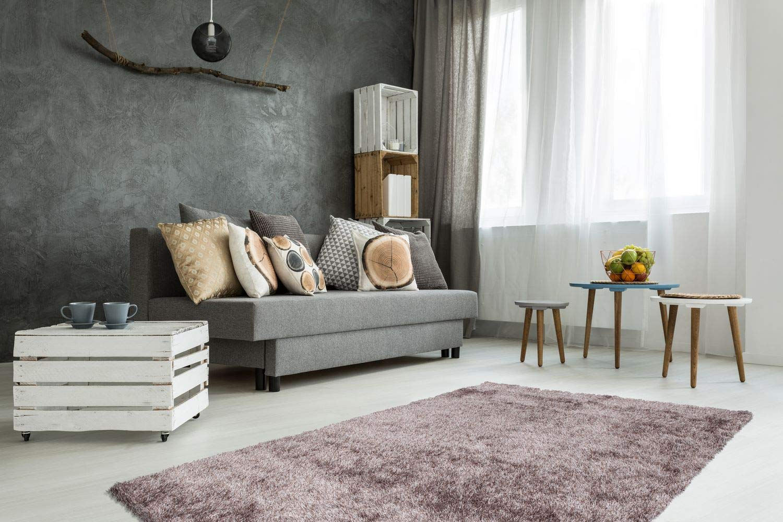 One Couture Hochflor Hochwertiger Teppich Uni Uni Uni Shaggy Modern Teppiche Beige Braun, Größe 200cm x 290cm B00JL92HF2 Teppiche 86620f