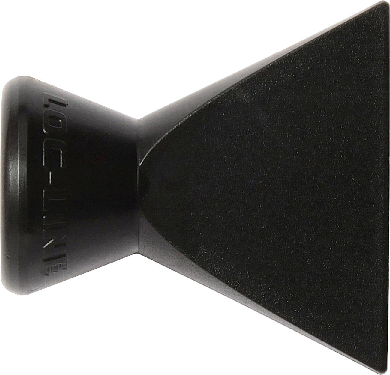 Loc-Line Coolant Hose Component 1//4 Diameter Pack of 20 Side Flow Nozzle Black Acetal Copolymer 1//4 Hose ID