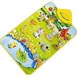Vovotrade Animaux de ferme chant tapis Jouet bébé Enfants Tactile Musique chant tapis Meilleurs