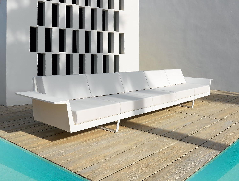 Vondom Flat Sofa 5 Blanco