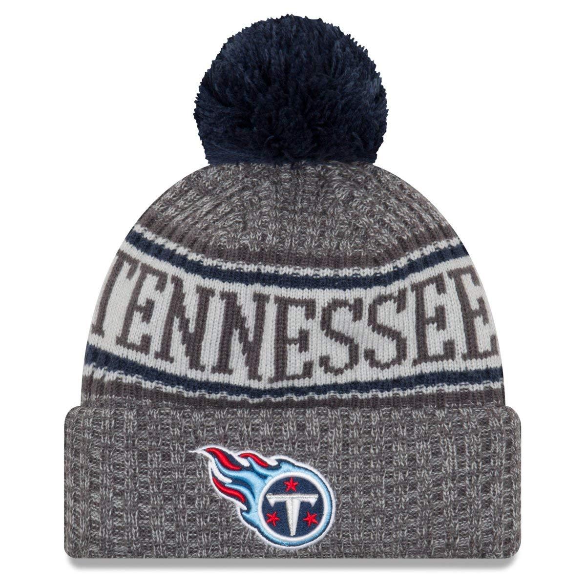 4b94eb835fc834 New Era NFL Tennessee Titans 2018 Sideline Graphite Sport Knit:  Amazon.co.uk: Sports & Outdoors