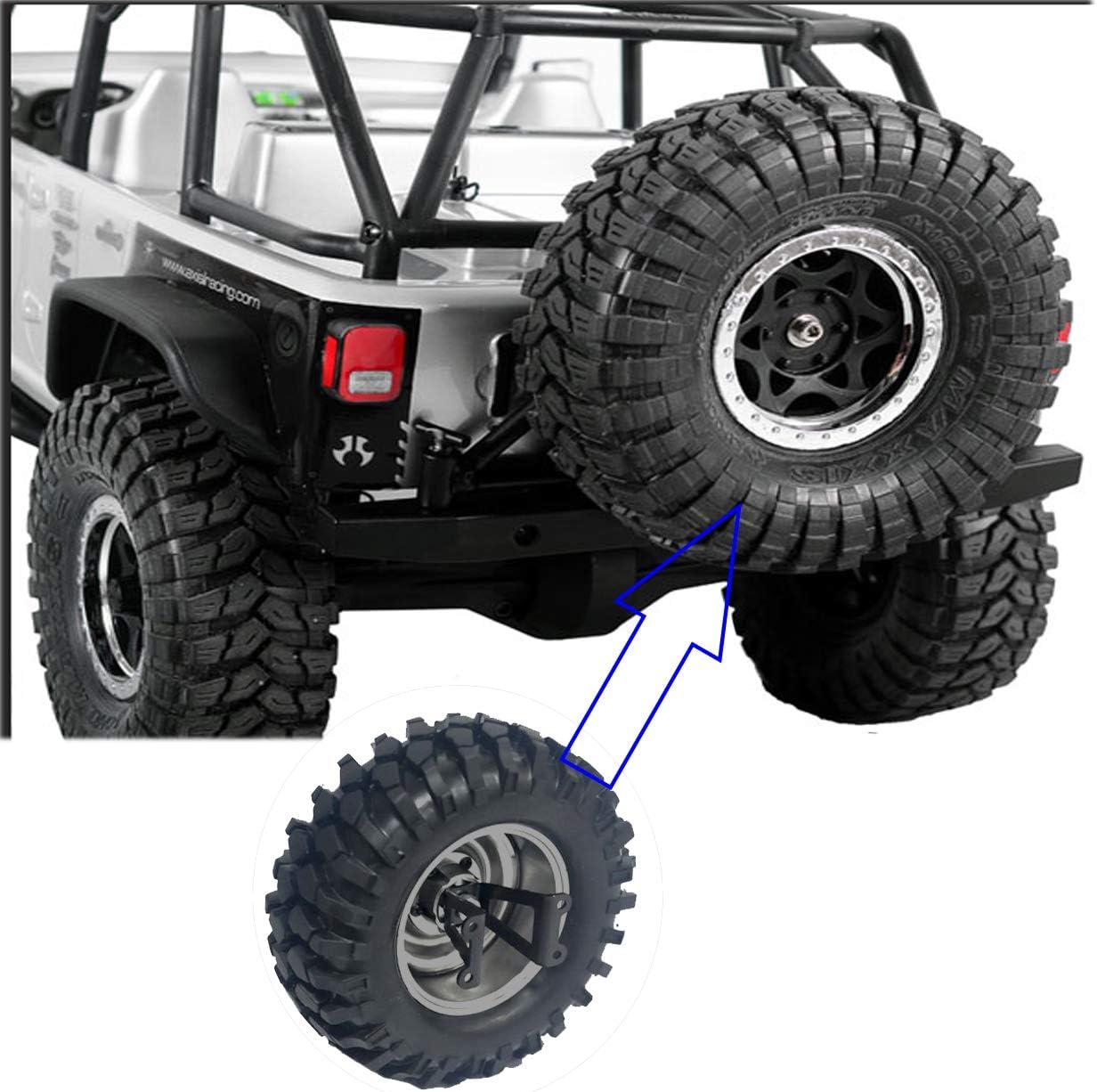 Green 4PCS ShareGoo Aluminium RC M4 Wheel Nut,RC Car Dustproof Wheel Rim Center Cap Hub for Traxxas TRX4 Axial SCX10 90046 D90 Tamiya Redcat HPI 1//10 RC Crawler Car