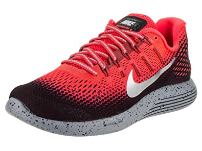 77633c4ed9f ... reduced nike men lunarglide 8 shield running shoe bright crimson 11.5  bright crimson c3577 3a0b3