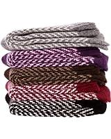 Surker Women 5 Pairs Rabbit Wool Keep Warm Winter Padded Socks