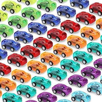 nicknack Tirare indietro le Auto,48 Piezas Mini Auto ...