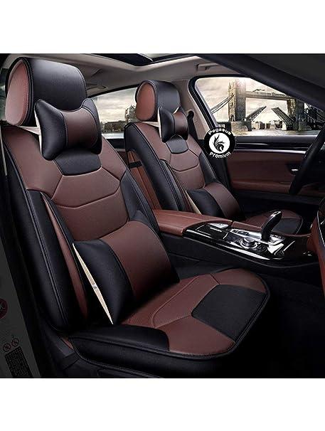 Fantastic Pegasuspremium Pu Leather Car Seat Cover For Mahindra Bolero Dark Tan Black Andrewgaddart Wooden Chair Designs For Living Room Andrewgaddartcom