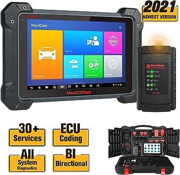 Services Bi-Directional Control 2021 New Version Autel MaxiCOM MK906BT Automotive Scan Tool with ECU Coding Full-System Diagnostics Car Diagnostic Scanner 31