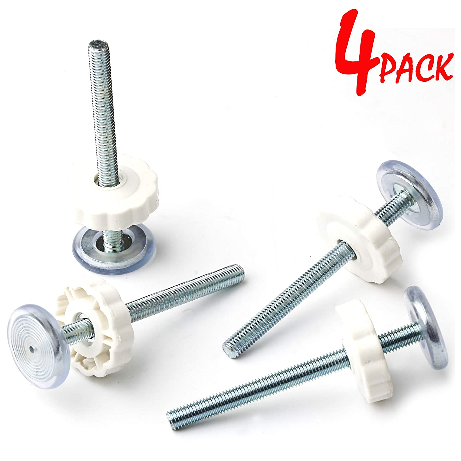 SmartMe Threaded Spindle Rods M8 8 mm for All Pressure Mounted Baby Gates Screw