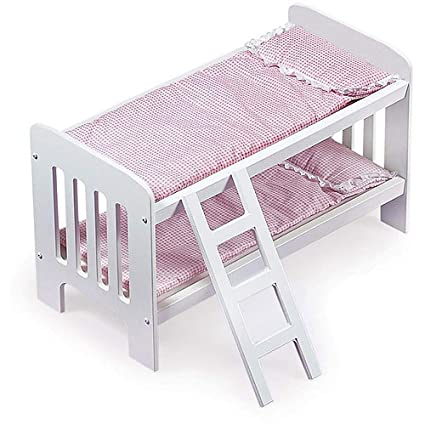 Amazon Com Badger Basket Doll Bunk Beds With Ladder Fits Most 18