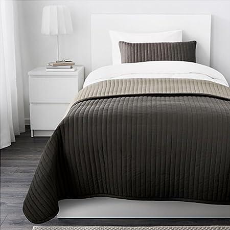 Schweden Ikea Suecia IKEA IKEA karit Colcha + almohada marrón 260 ...