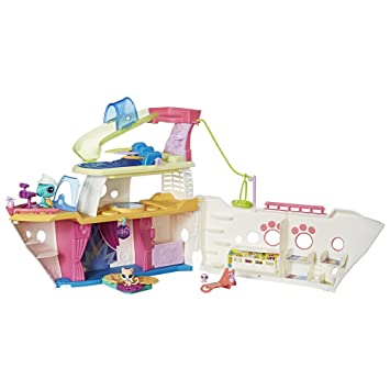 Amazoncom Littlest Pet Shop LPS Cruise Ship Toys Games - Cruise ship toys for sale