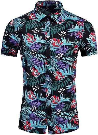Sylar Camisa Hombre Verano Manga Corta Talla Grande Camisa Hawaiana con 3D Estampado de Flores Blusas Camisas de Playa T-Shirt Camisetas M/L/XL/2XL/3XL/4XL/5XL/6XL: Amazon.es: Ropa y accesorios
