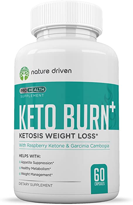 Keto Pills - Diet Pills That Work Fast for Women & Men - Ketones - Best Appetite Suppressant - Thermogenic Belly Fat Burner - 30 Day Supply