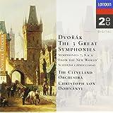 """Dvorak : les 3 grandes symphonies, n° 7, 8 et 9 """"du Nouveau Monde"""""""