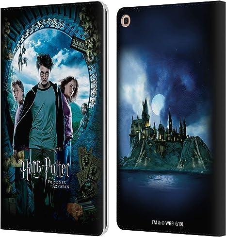 Oficial Harry Potter Ron, Harry & Hermione Poster Prisoner of Azkaban IV Carcasa de Cuero Tipo Libro Compatible con Samsung Galaxy Tab A 10.1 2019