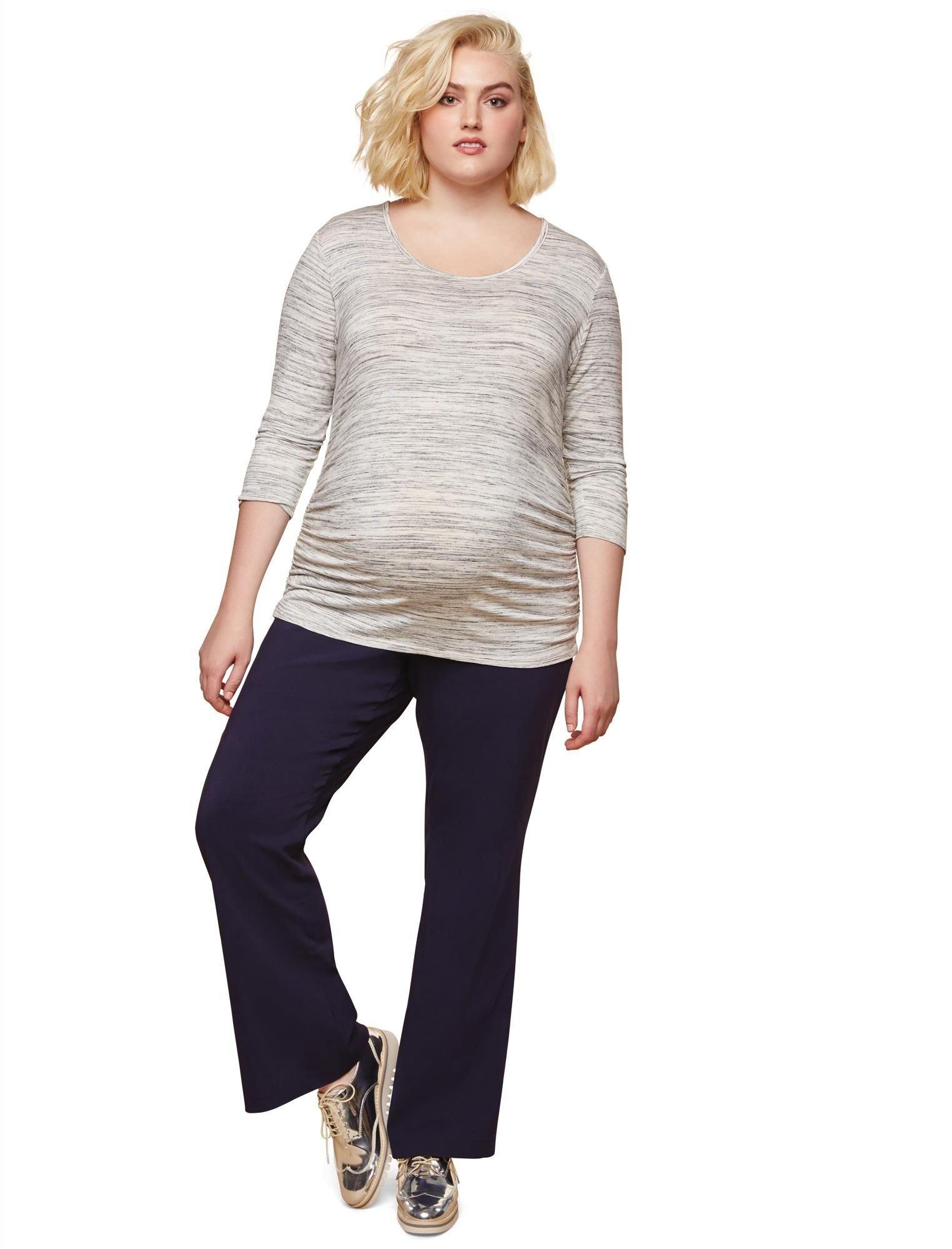 Motherhood Plus Size Tech Twill Boot Cut Maternity Pants
