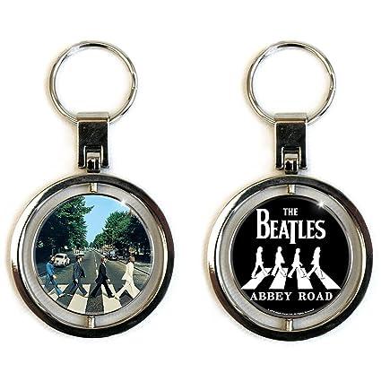 The Beatles Classic - Llavero de metal de dos caras: Amazon ...