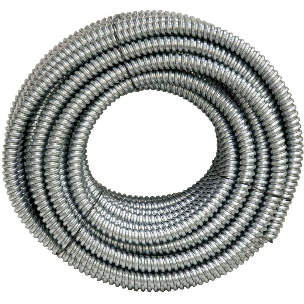 AFC Cable Systems 1/2 x 100 ft. Flexible Steel Conduit