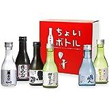 福光屋 ちょいボトルBOX 180mL 6種各1本 オリジナル特別純米酒 [ 日本酒 石川県 米、米麹 ] [ギフトBox入り]