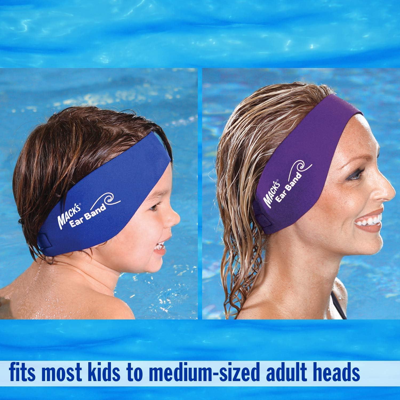 1X Children Adult Swimming Ear Band Headband Neoprene Kid Junior Ear Protect ON