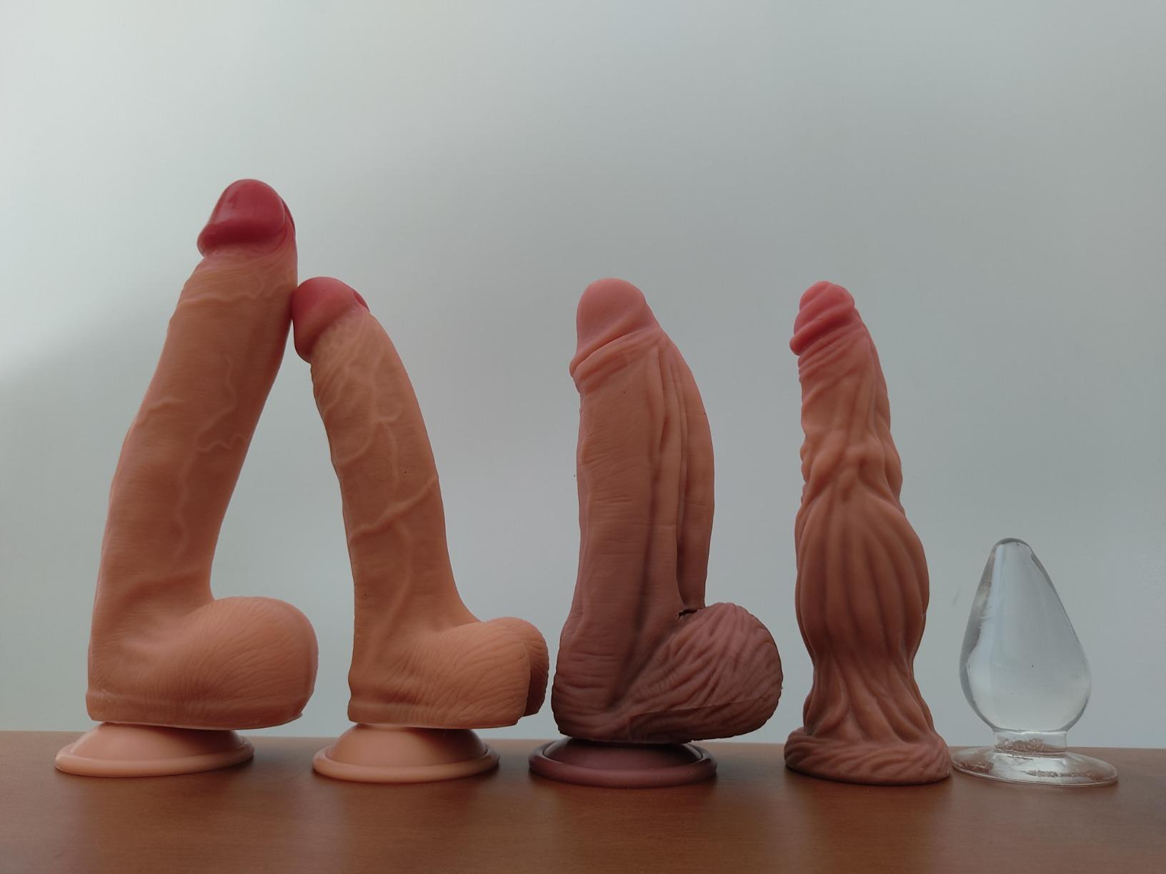 """9.5"""" Wolf Thick Dildo Realistic Anal Dildo photo review"""