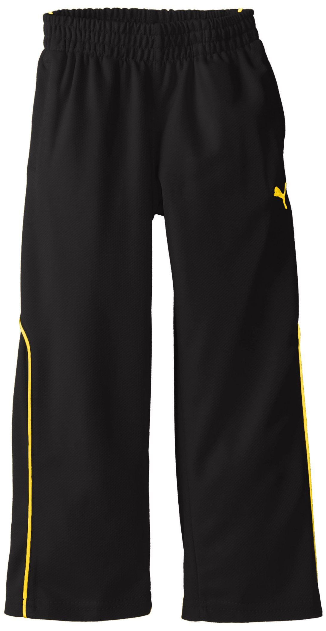 PUMA Little Boys' Training Pant 1, Black, 5
