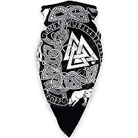 Valknut Viking Age Symbol Norse Warrior Bandana Unisex Scarf Outdoor Headwear Sports Face Mask for Workout Yoga Running…