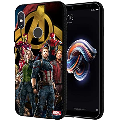 timeless design b6c40 e1177 MTT Marvel Avengers Infinity War Printed Mobile Back Case Cover for Redmi  Note 5 Pro