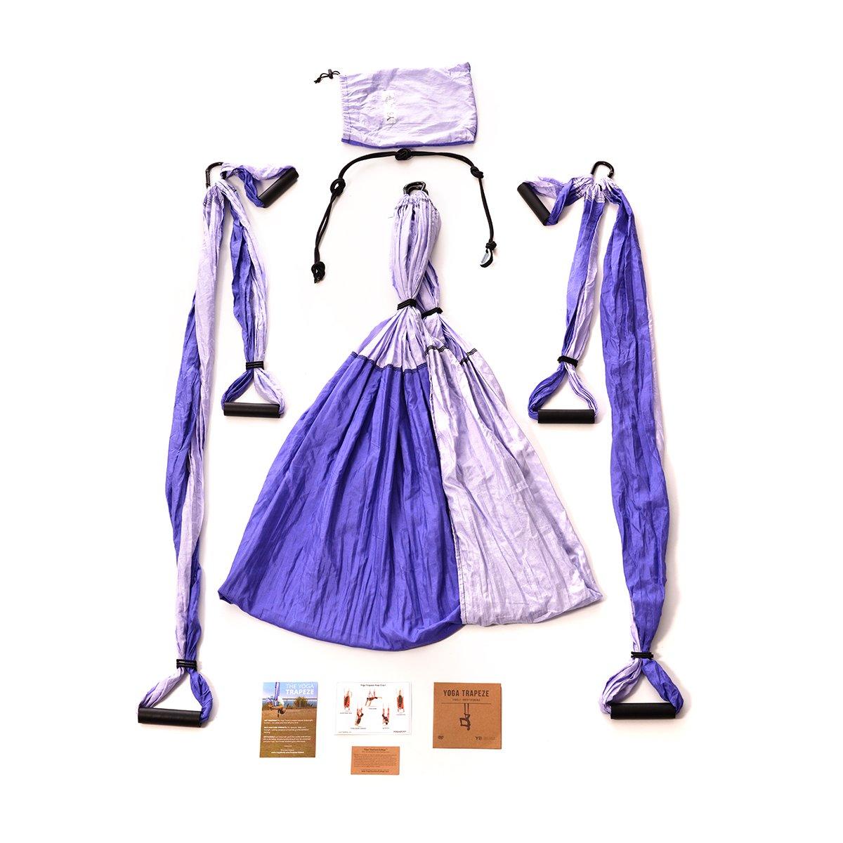 Bundle - 2 Items: Yoga Trapeze Purple & Yoga Wonder Wheel Blue [Bundle] - By YOGABODY - with 2 Free DVD by YOGABODY (Image #3)