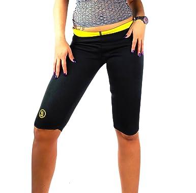 if she Pantalones de Neopreno de Fitness para Mujer Pantalones ...