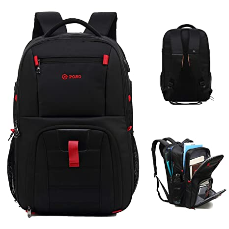 789814914521 Laptop Backpack Business Travel Laptop Backpack College Backpack with USB  Charging Port and Lock &Headphone Interface Water-Resistant Laptop Bag for  ...