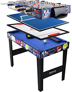 Ordinaire IFOYO 48 In/31.5 In Multi Function 4 In 1 Steady Combo Game Table