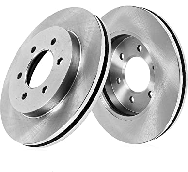 OE Replacement Rotors Ceramic Pads F+R 2004 2005 2006 2007 Cadillac SRX