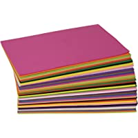 Creativity Street WonderFoam Foam Sheets, 5.5-inches x 8.5-inches, Assorted Colors, 40 Sheets (AC4301)
