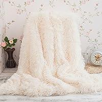 Yaer Kuscheldecke PV Longhair Blanket Microfaser Kunstfell TV Decke Tages Klimaanlage Decke für Couch Bett Leicht Flauschig