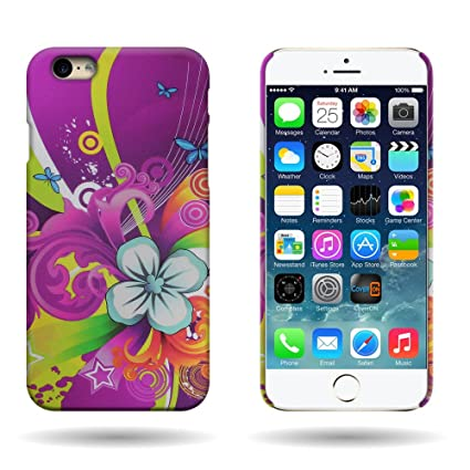 Amazon.com: iPhone 6S Carcasa rígida, coveron® Apple iPhone ...