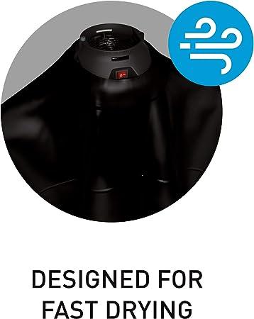 Surf Logic Wetsuit Pro Dryer - Secador de Traje de Neopreno, Negro, 450 x 177 x 157 mm