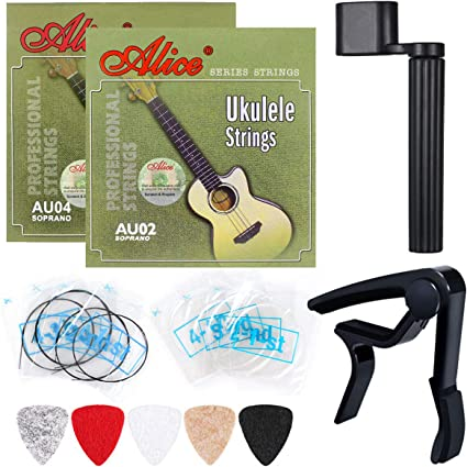 Black 23 Acoustic Guitar Toy with Pick /& Strings