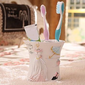 WAWZJ Actividades creativas en la caja de herramientas, titular de cepillo de dientes y pasta de dientes,E: Amazon.es: Hogar