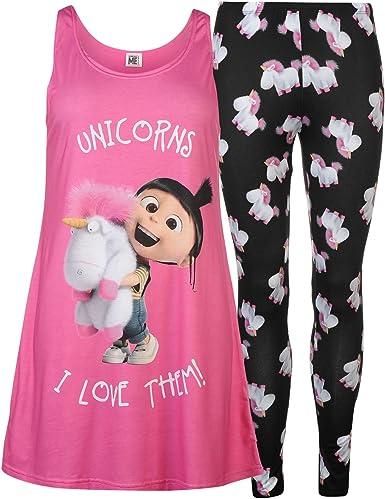 Disney Les Minions Agnès - Pijama - para mujer multicolor M ...