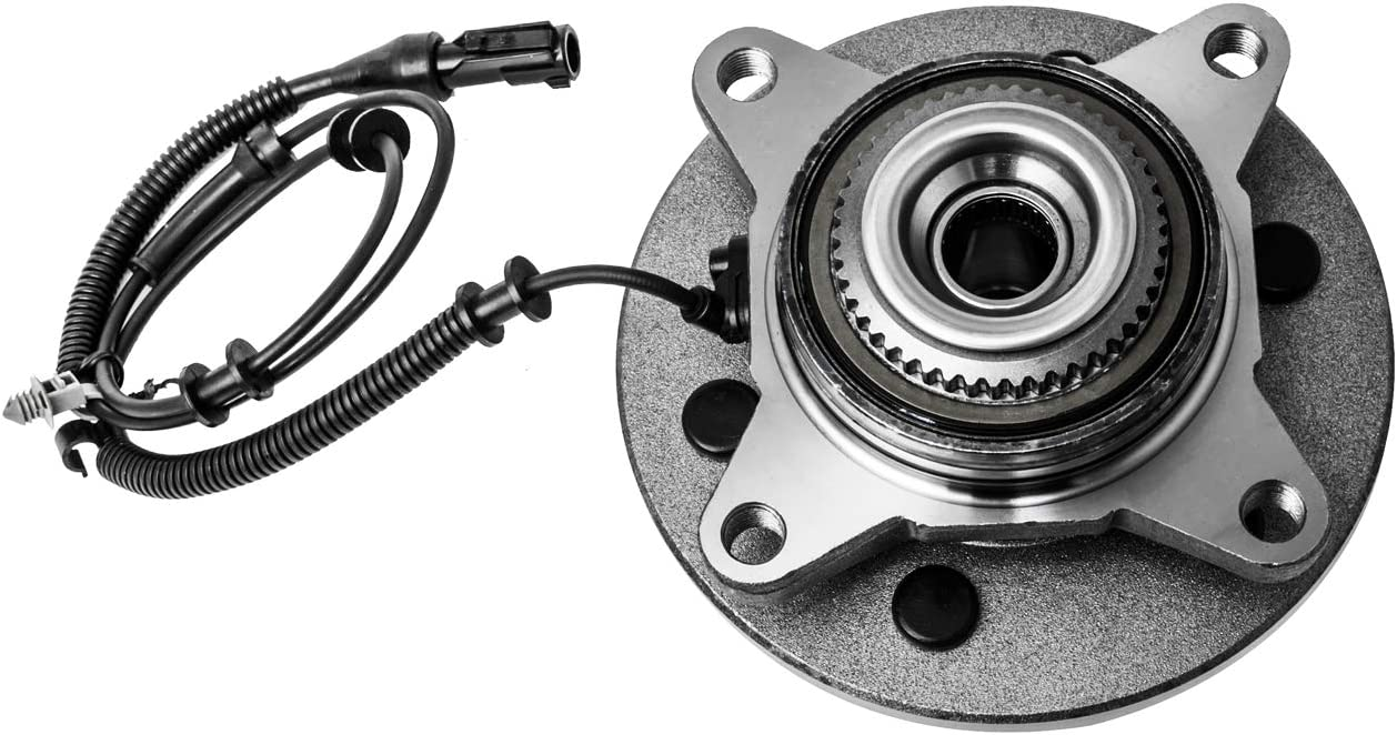 TUCAREST 515046 Front Wheel Bearing and Hub Assembly Compatible With 2004 2005 Ford F-150 4WD 4x4 AWD 6 Stud Hub W//ABS Built Before 11//28//2004