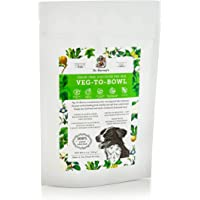 Dr. Harvey's Veg-to-Bowl Dog Food, Human Grade Dehydrated Base Mix for Dogs, Grain Free Holistic Mix