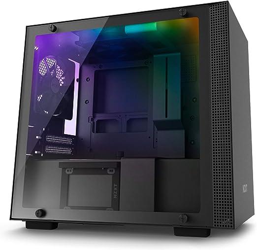 NZXT H200i - Caja PC Gaming Mini-ITX - Panel de vidrio templado ...