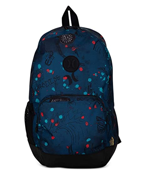 Hurley M Blockade II Scribble Backpack Mochilas, Hombre, Black, 1SIZE