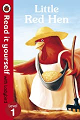 Read It Yourself Little Red Hen Level 1 (mini Hc) Hardcover