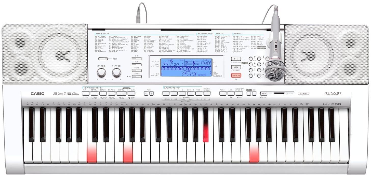 限定価格セール! CASIO 光ナビゲーションキーボード 61鍵 61鍵 標準ピアノ形状鍵盤 CASIO LK-208B0042505J0, エステライン:31853f78 --- a0267596.xsph.ru